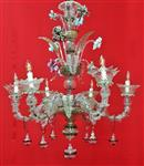 Murano Blown glass chandelier