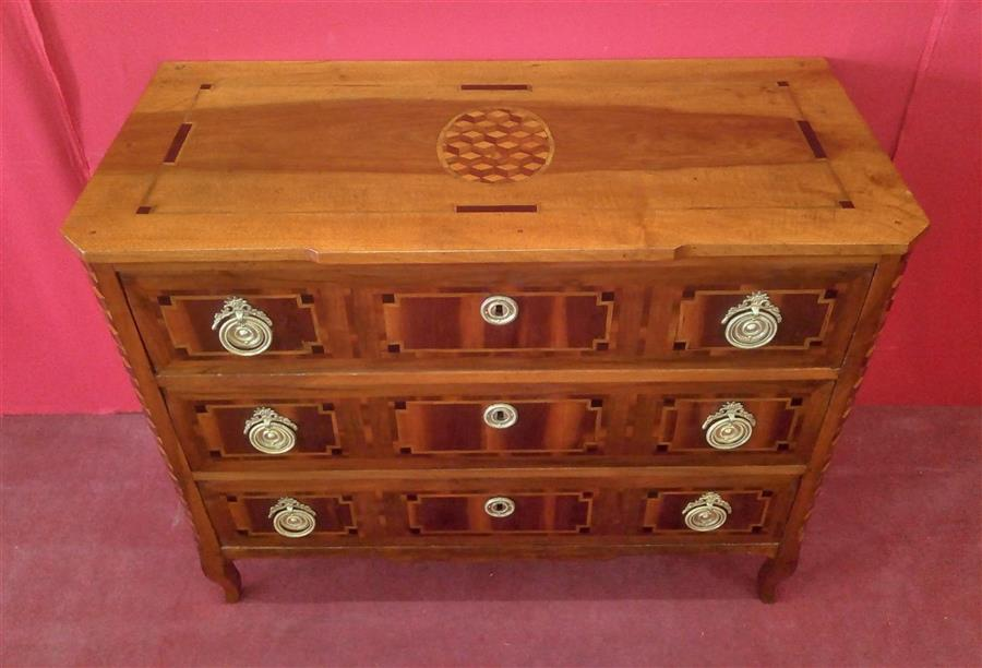Inlaid dresser of the early nineteenth century