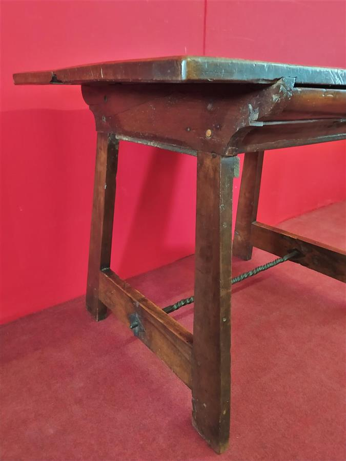 Small writing table from the end of the 17th century