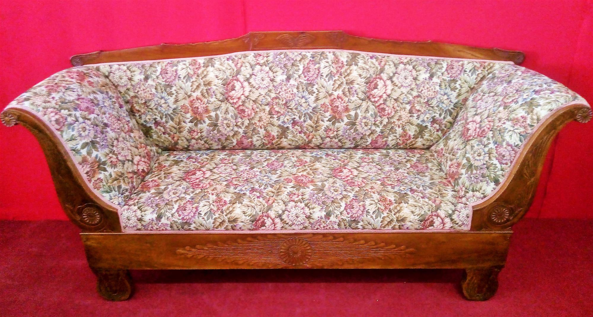 Two-seater sofa, Empire